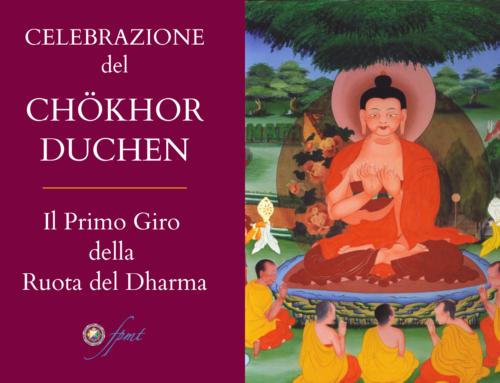 24 luglio 2020: Chokhor Duchen e Giornata Internazionale del Sangha