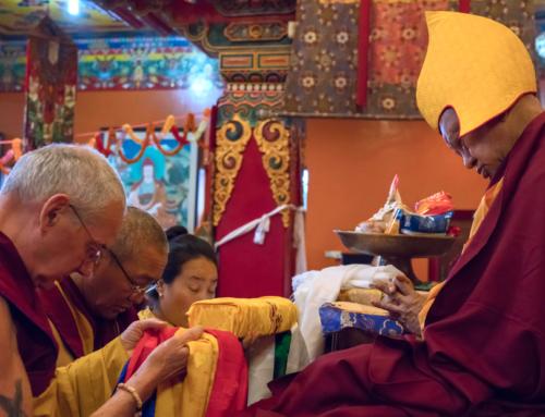 Puja di Lunga Vita a favore di Lama Zopa Rinpoce