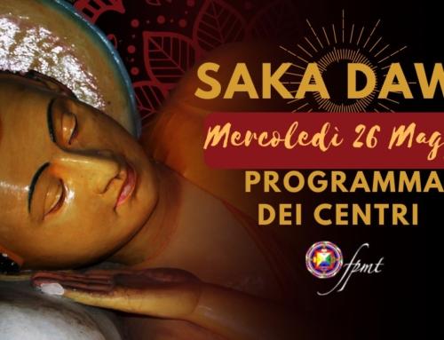 Saka Dawa Ducen 2021 – Programma dei Centri FPMT Italia