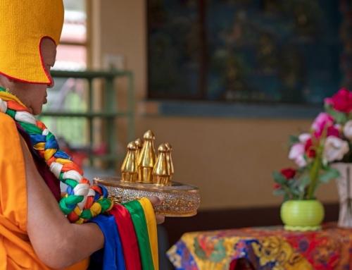 14 luglio 2021: Chokhor Duchen e la giornata internazionale del Sangha
